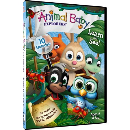 Wild Animal Baby Explorers: Learn and See! (DVD) (Brain Infant Learning Dvd)