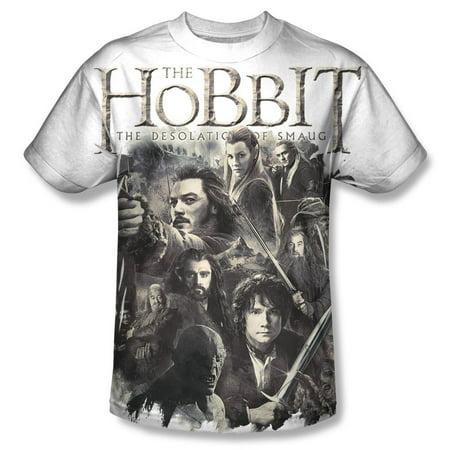 The Hobbit Men's  Hhollen Amarth Sublimation T-shirt White](The Hobbit Outfits)