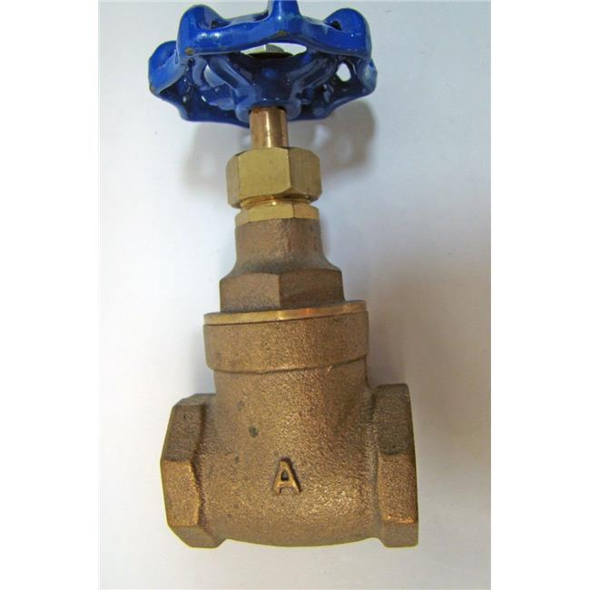 American Valve 3FGS 2 2 in. Bronze Gate Valve - CxC with 150 WSP & 300 WOG