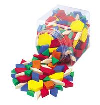 School Smart Hollow Pattern Block Set