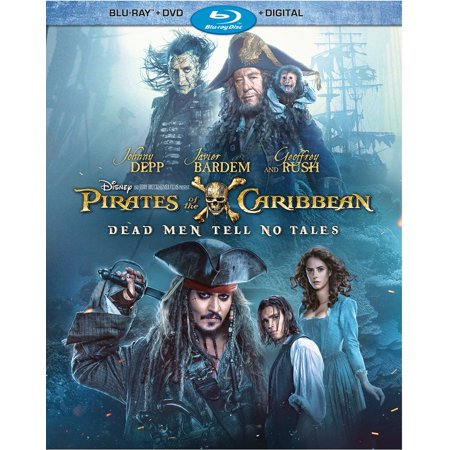 Pirates of the Caribbean: Dead Men Tell No Tales (Blu-ray + DVD + Digital