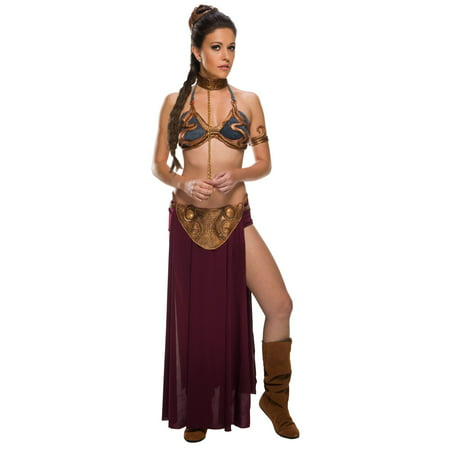 Women's Sexy Star Wars Princess Leia Slave Costume