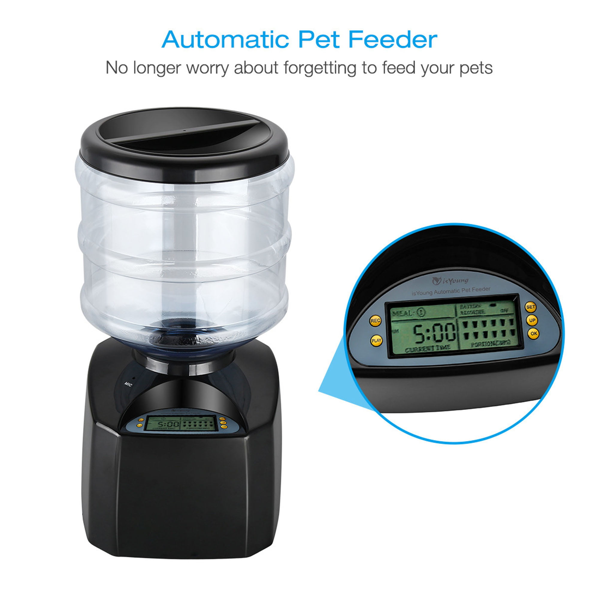 smart programmable advanced feederbrand feeder sintarpet food pet
