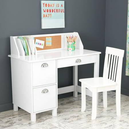 Kidkraft Study Desk Chair White