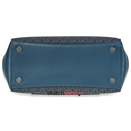 520c7372adfd Michael Kors Signature Logo Print Tote Bag - Blue - image 3 of 4 ...