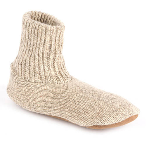 MUK LUKS Morty - Men's Ragg Wool Slipper Sock
