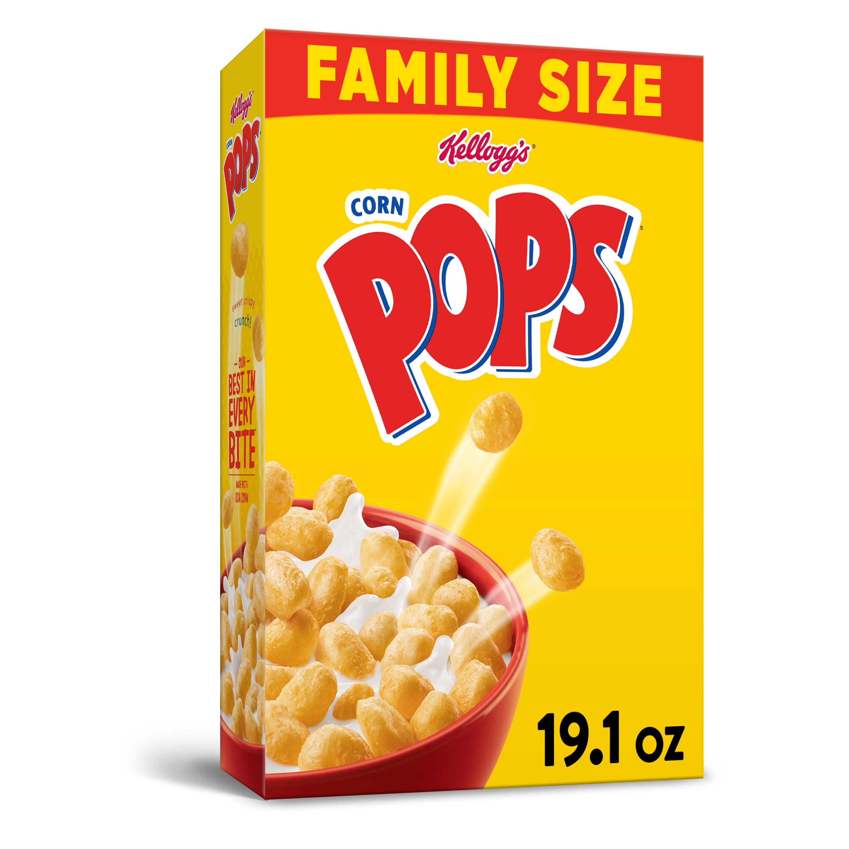 Kellogg's Corn Pops Breakfast Cereal Original Family Size
