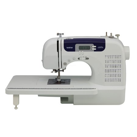 Brother CS6000i Feature-Rich Computerized Sewing Machine With Wide Table & 60 Built-In Stitches (Sewing Machine Gemsy)
