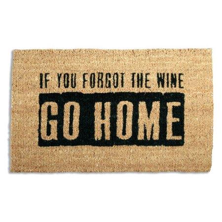 Tag Where's The Wine? Coir Door Mat