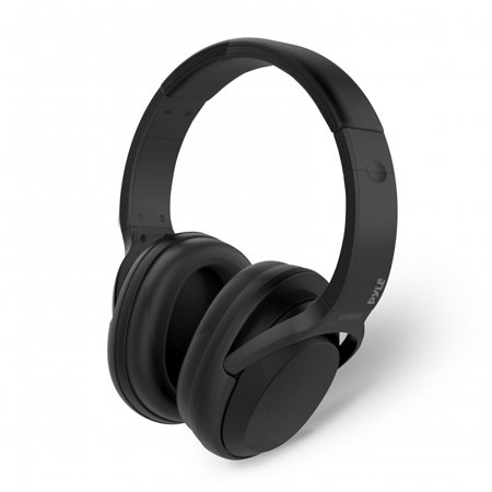 PYLE PBTNC50 - Active Noise-Cancelling Headphones with Bluetooth Wireless Music Streaming and