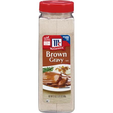 Arlington Gravy (McCormick Brown Gravy Mix, 21)