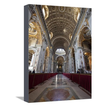 Party City Site (St. Peter's Basilica, Vatican City, UNESCO World Heritage Site, Rome, Lazio, Italy, Europe Stretched Canvas Print Wall Art By Carlo)