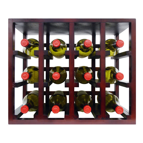 Epicureanist 12 Bottle Stackable Tabletop Wine Rack