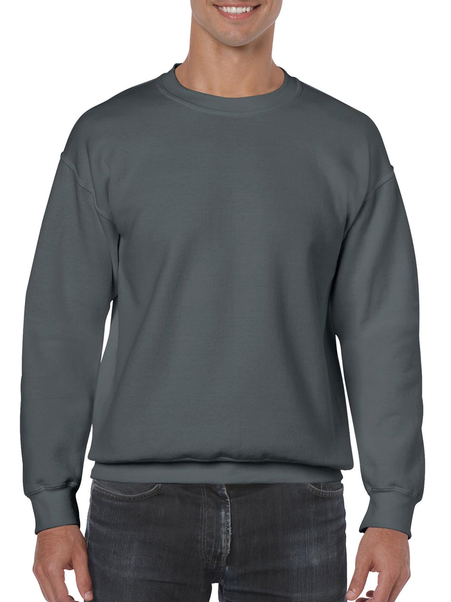 d72cbdc89977 Gildan - Mens Crewneck Sweatshirt - Walmart.com