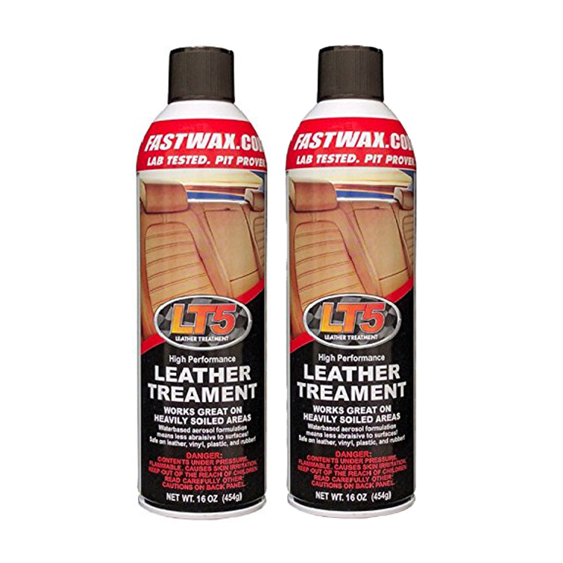 LT5 High Performance Leather Treatment Cleaner and Conditioner by FW1 Fast Wax (2 Pack)
