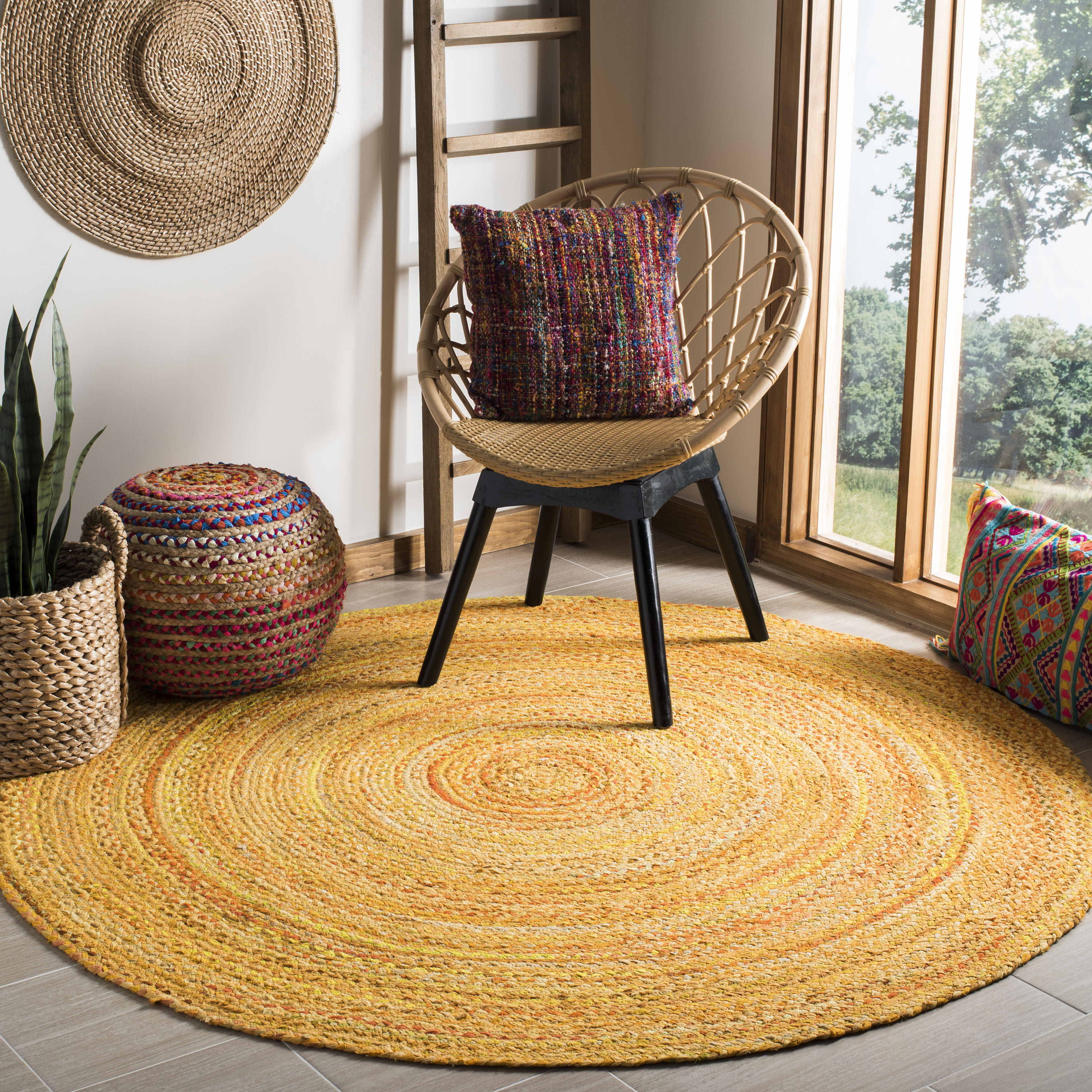 Safavieh Braided Winifred Colorful Braided Area Rug
