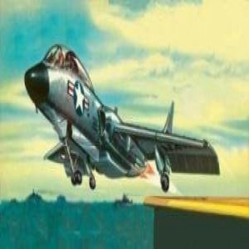 Revell Rv00019 F-7U-3 Cutlass Model Kit by