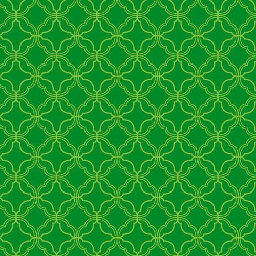 "Waverly Inspirations Cotton Duck 44"" Mini Geometric Kelly Fabric, per Yard"