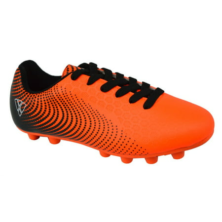 Vizari Stealth FG Youth Soccer Cleat Orange/Black Size 5 (Youth Tf Cleats)