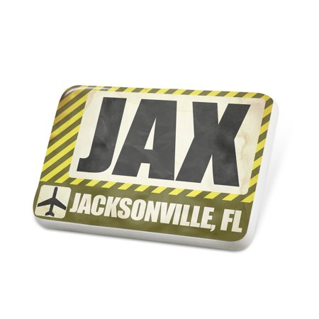 Porcelein Pin Airportcode JAX Jacksonville, FL Lapel Badge – NEONBLOND](Halloween Jacksonville Fl)