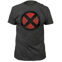Marvel Comics X-Men Distressed Logo Adult T-Shirt