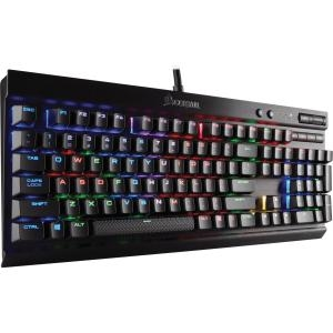 Corsair K70 LUX RGB RAPIDFIRE Mechanical Gaming Keyboard USB Passthrough & Media Controls Fastest & Linear RGB... by Corsair