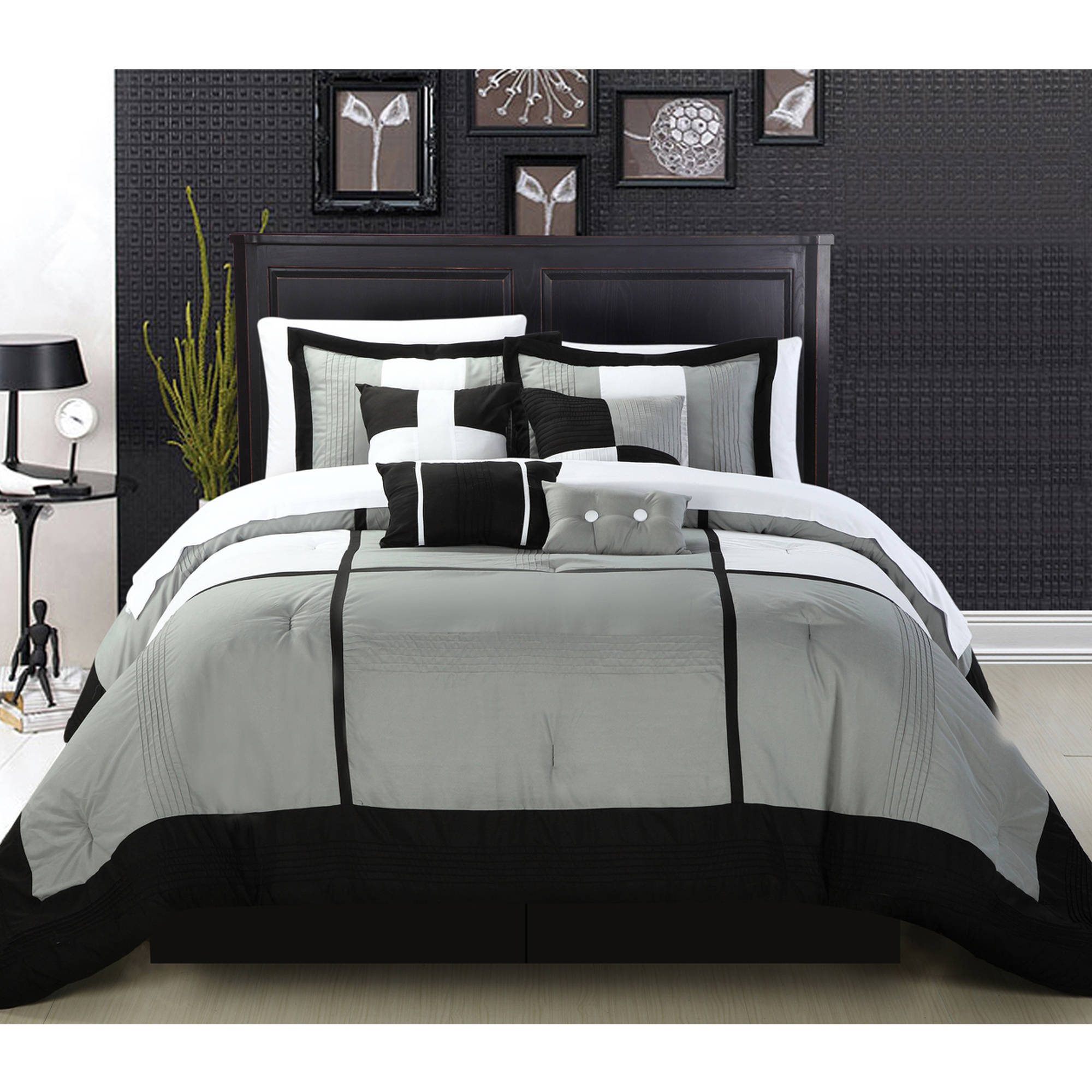 Desiree 12-Piece Bed in a Bag Bedding Comforter Set