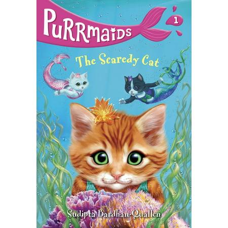 Purrmaids #1: The Scaredy Cat (Paperback)](Scared Cat Halloween)