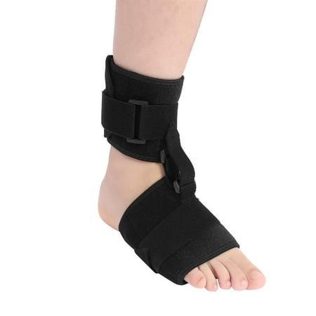 WALFRONT Ankle Brace Foot Drop Splint Orthotics Fracture Sprain Injury Support Wrap Foot Drop Brace for Men & Women