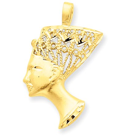 14k yellow gold nefertiti pendant walmart 14k yellow gold nefertiti pendant mozeypictures Gallery