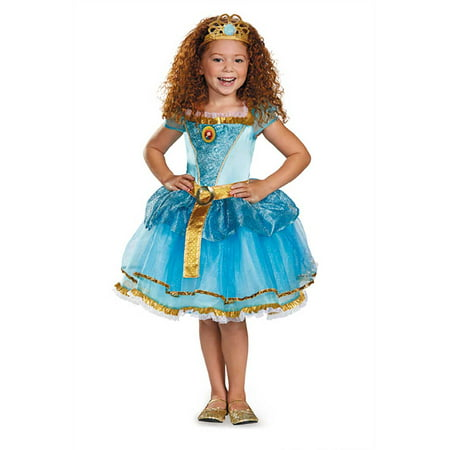 Child Disney Princess Merida Brave Tutu Costume by Disguise 72618 - Brave Merida Dress