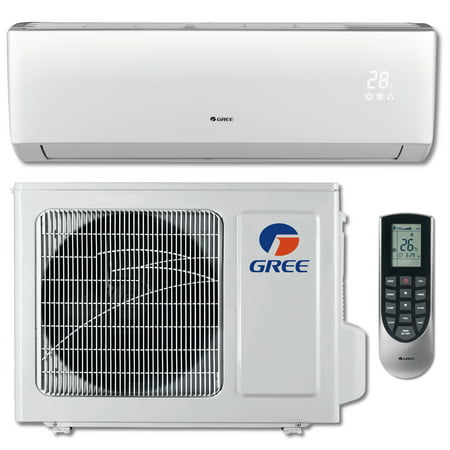 GREE VIREO+ 12,000 BTU Cool / 12,200 BTU Heat Ductless Mini Split Air Conditioning and Heating System (115V / 60Hz)