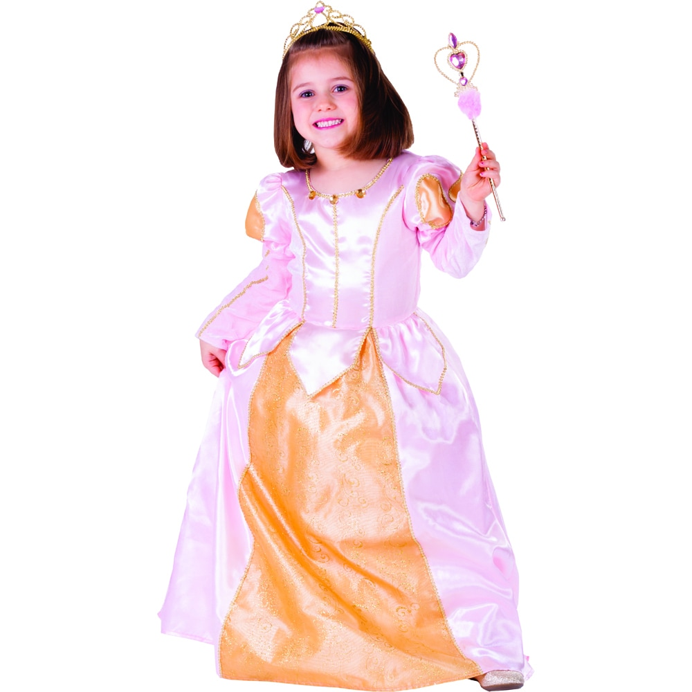 Dress Up America Pink Belle Ball Gown Costume