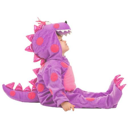 Teagan the Dragon Infant - Homemade Dragon Costume