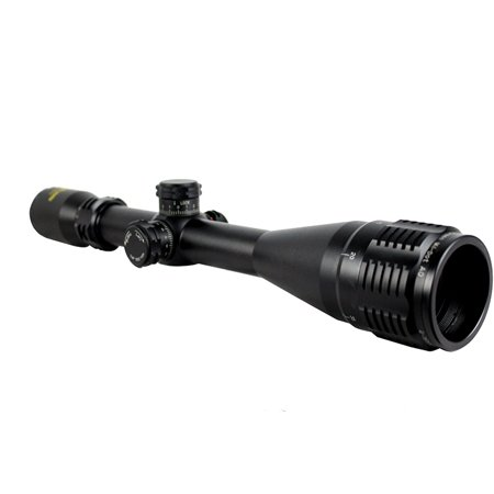 Pro Target Black Matte 4-16x50 AO R/G Mil-Dot Dual Illuminated Tactical Scope (Target Scope)