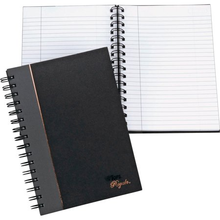 Black Executive Notebook (TOPS, TOP25330, Sophisticated Business Executive Notebooks, 1 Each)