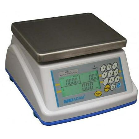 Adam Equipment Wbz 6A Kg Washdown Price Computing Scale  3000 X 1 G