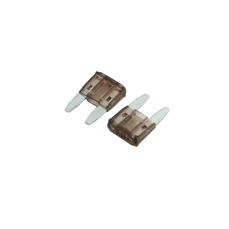 20pcs DC 5V-32V 7.5A Universal Brown Car Fuse Replacement Small Blade Type Fuses - image 1 of 2