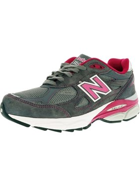 Skechers Womens Gray/Pink Athletic Leather/Textil<wbr/>e Upper Sneakers Shoes Size 8.5
