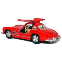 "5"" 1954 Mercedes-Benz 300 SL Coupe 1:36 Scale (Red), Official Licensed Product By Kinsmart From USA"