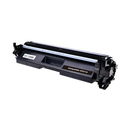 Compatible HP CF217A (HP 17A) Black Toner Cartridge (with chip) - image 1 de 1
