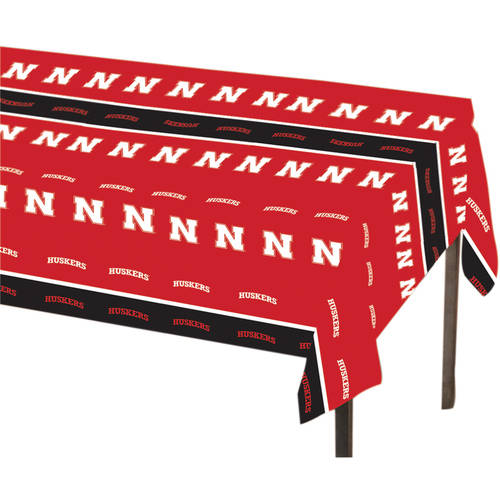 Nebraska Cornhuskers Table Cover