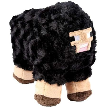 Minecraft Black Sheep Plush (Two Black Sheep)