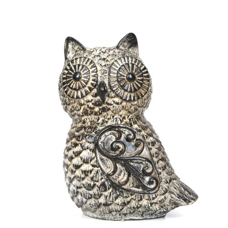 Mainstays Tabletop Resin Owl, (Owl Postage)