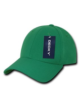 Product Image Decky 870 2 Size Curve Bill Flex Caps-Kelly- L XL a7df820eed25
