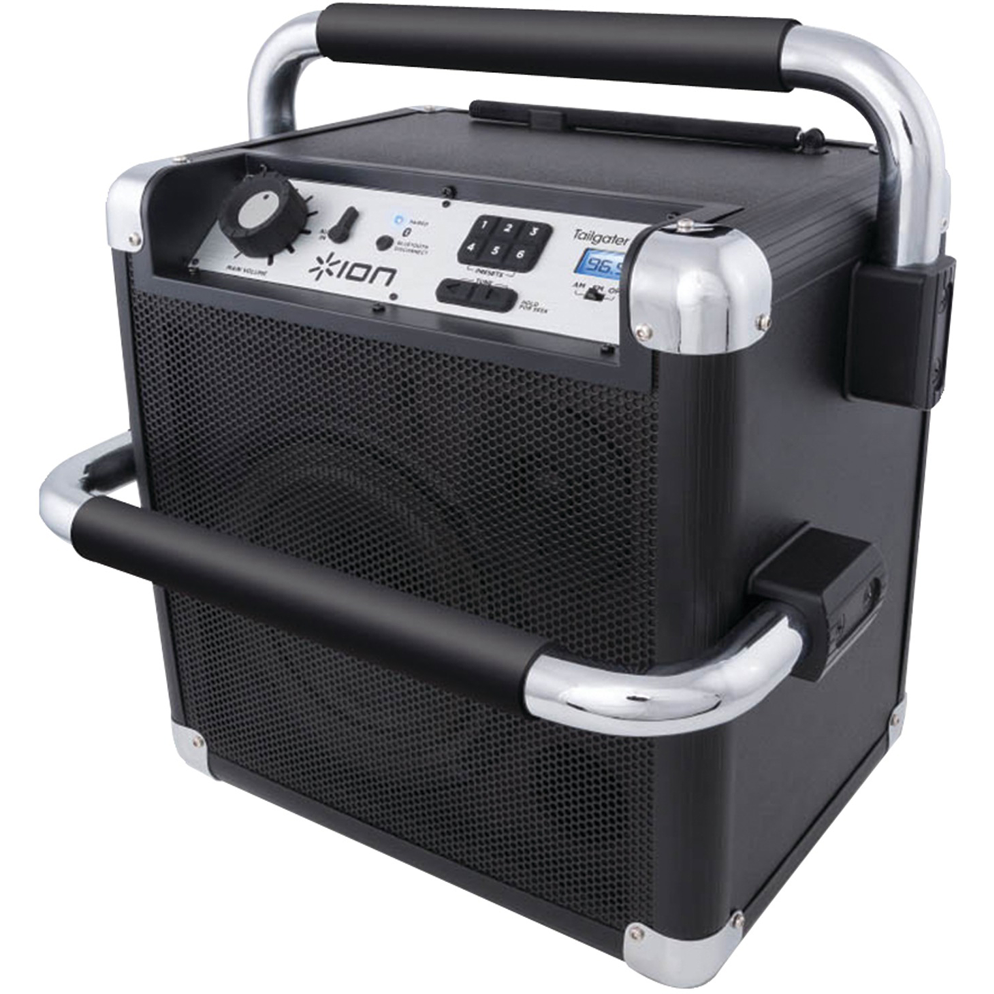 ION IPA30ABK Tailgater Active Wireless Speaker System, Black