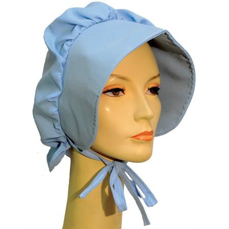 Halloween Adult Pioneer Blue Bonnet - Halloween Belle