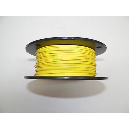 YELLOW 20 TXL HIGH TEMP AUTOMOTIVE WIRE 500 FOOT SPOOL ()