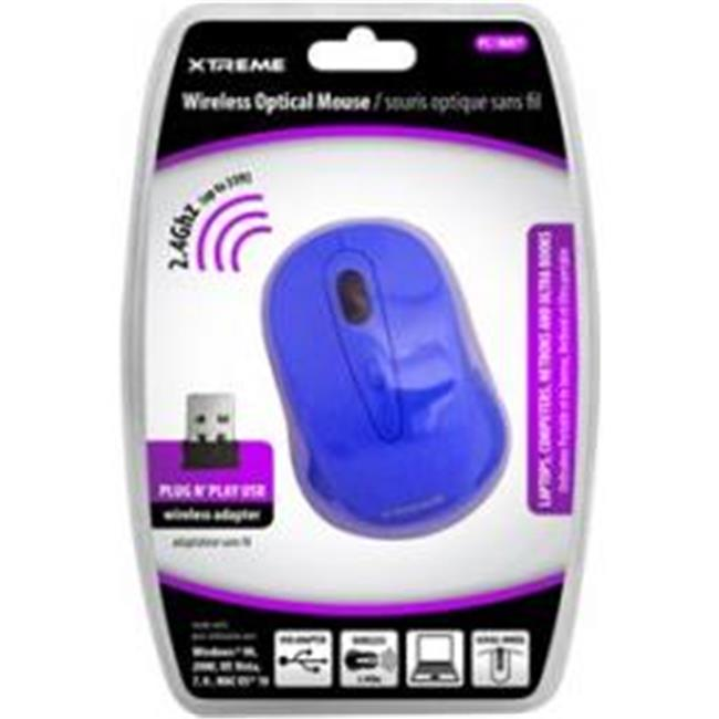 Xtreme Cables 95905 2. 4 ghz.  Wireless Optical Mouse - Blue