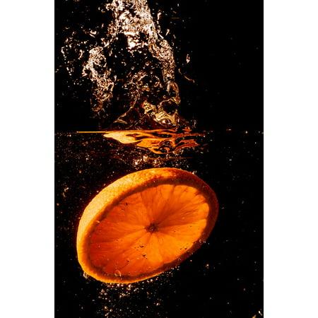 Fruit Splash - Canvas Print Spray Wet Splash Red Fruits Drip Water Stretched Canvas 10 x 14